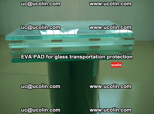 EVA CORK PAD for laminated safety glass transportation protection (27)