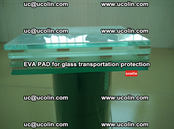 EVA CORK PAD for laminated safety glass transportation protection (30)