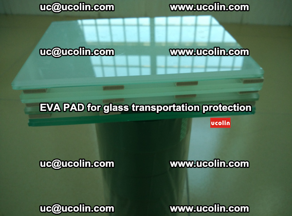 EVA CORK PAD for laminated safety glass transportation protection (36)