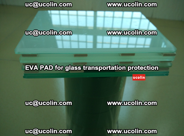 EVA CORK PAD for laminated safety glass transportation protection (42)