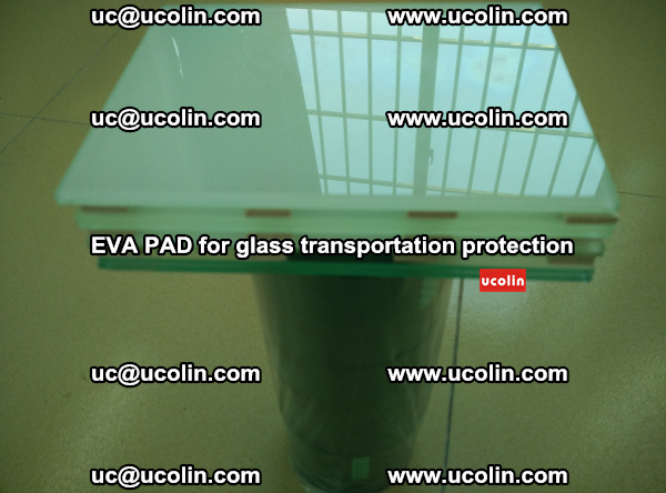 EVA CORK PAD for laminated safety glass transportation protection (46)