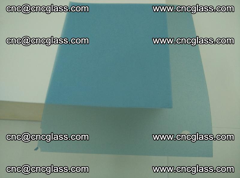 EVA glass interlayer film for safety glazing royal blue (transparent) (17)