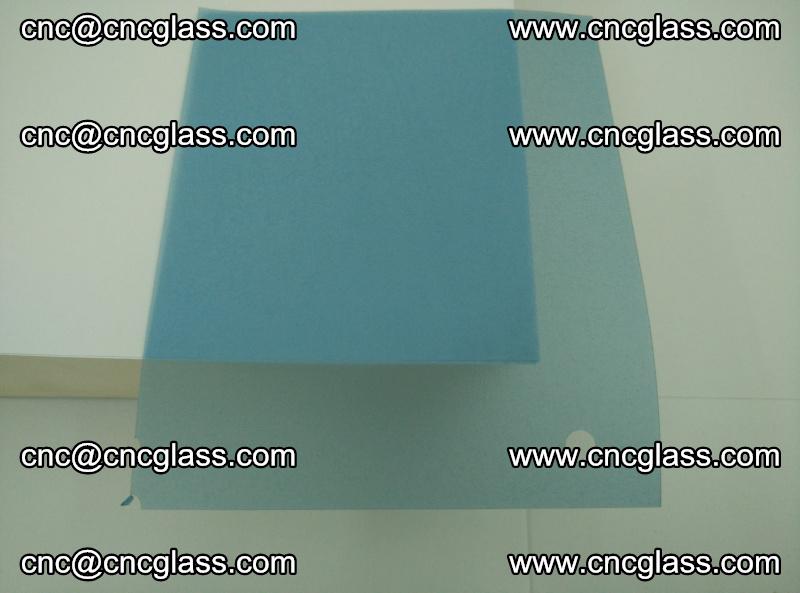EVA glass interlayer film for safety glazing royal blue (transparent) (19)
