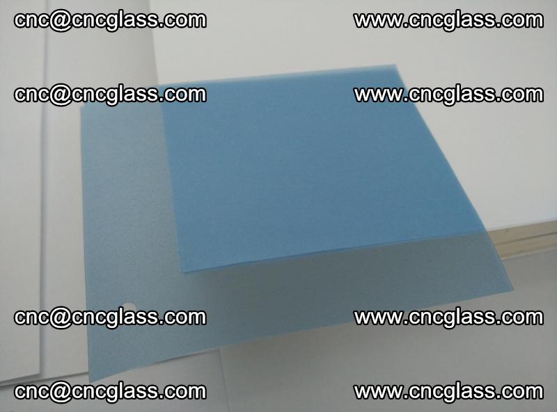 EVA glass interlayer film for safety glazing royal blue (transparent) (4)