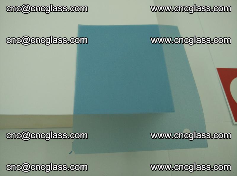 EVA glass interlayer film for safety glazing royal blue (transparent) (5)