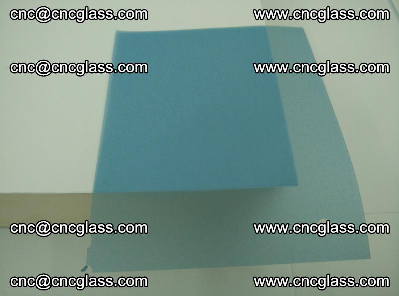 EVA glass interlayer film for safety glazing royal blue (transparent) (9)